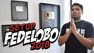Mostrando el nuevo Set Up 2018 I Fedelobo I