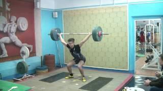 Рахматуллин Альберт, 17 лет, св 71 Рывок 90 кг