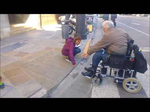 Safe and Accessible Sidewalks Program: Survey of Buenos Aires City sidewalks and curb