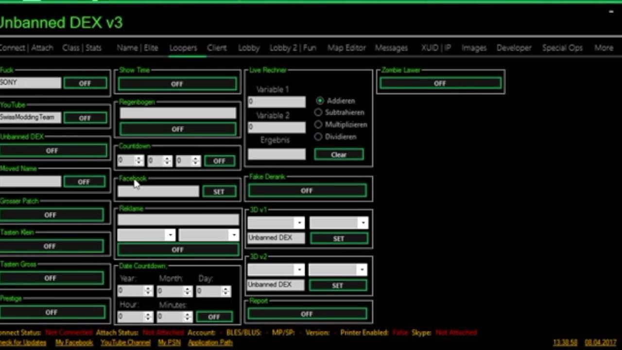 [MW3/PS3]Unbanned DEX V3 Best RTM Tool + Free Download