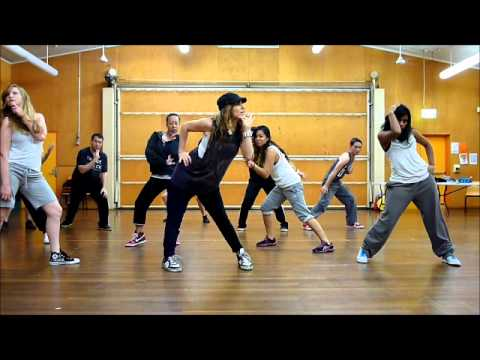 Hip hop dance instruction adults