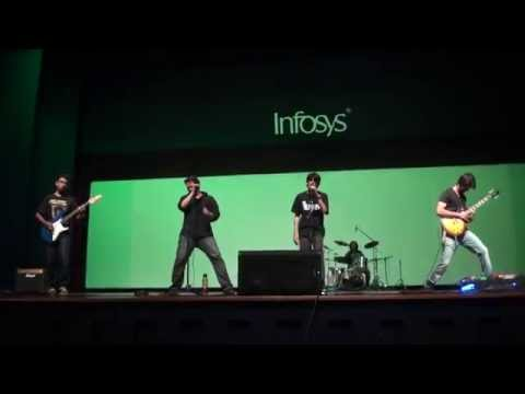 Sweet Child O' Mine (Guns n' Roses Cover) - Infosys Bangalore Music Show