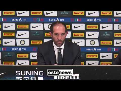 """Inter-Cagliari 1-1, parla Stellini al posto di Conte: """"Spesso arbitri non tranquilli a San Siro"""""""