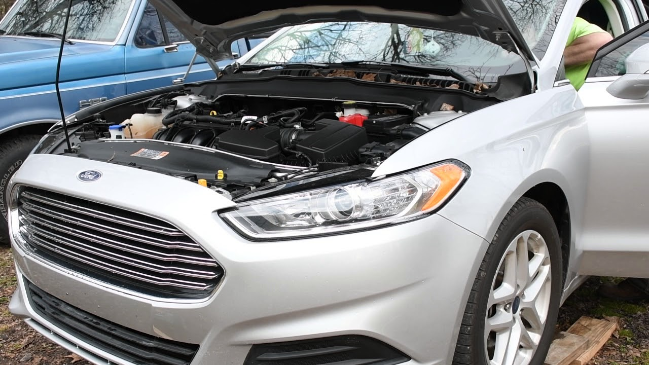 2016 Ford Fusion Oil Change