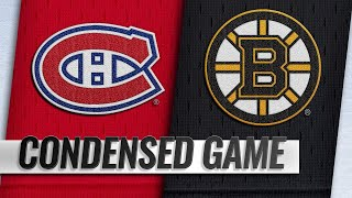 01/14/19 Condensed Game: Canadiens @ Bruins