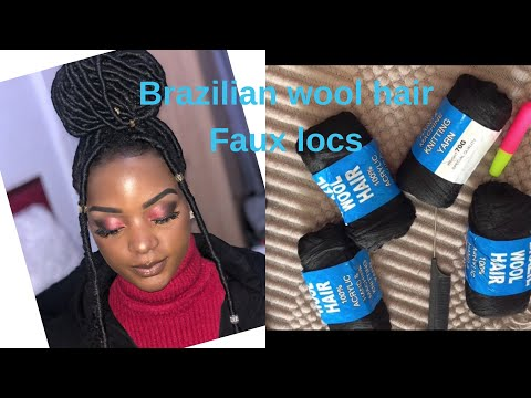 the-easiest-brazilian-wool-hair-faux-locs/-vlogmas-day-4|-deo-franzy