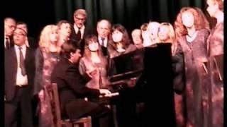 """mixed choir,,Petko Stainov""""-Karpenisi,Greece2009"""