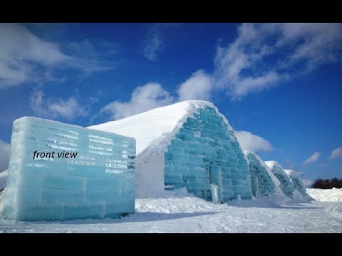 about ice hotels , feel of changed environment