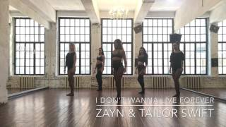 I Don't Wanna Live Forever Fifty Shades Darker Zayn  Taylor Swift Choreo By Katerina Surkova