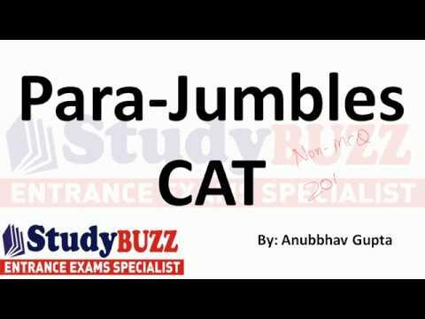 TITA based questions- Tips to solve parajumbles & jumbled sentences in CAT exam
