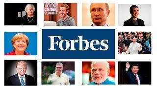 10 самых влиятельных людей в мире 2016 по версии FORBES