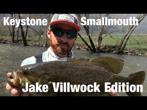 WB - Fly Fishing Keystone Smallmouth, Jake Villwock Edition - April '18