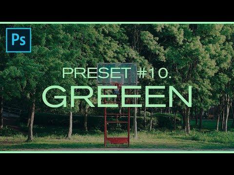 [포토샵] 색감 보정 프리셋 #10. GREEEN | 채널 토스트 thumbnail
