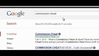 Commission Cheat Review- Listen To This Before You Buy (PSA)