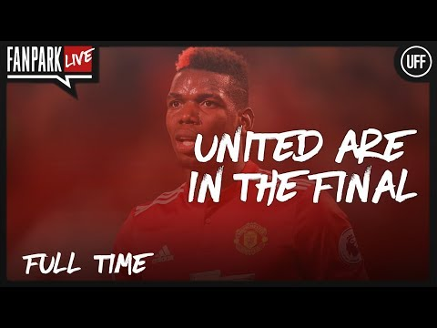United Are In The Final - Manchester United  2 - 1 Tottenham - Full Time Phone In - FanPark Live