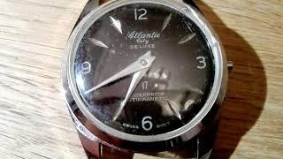 ATLANTIE City DE LUXE 17 waterproof antimagnetic swiss movt - fake ATLANTIC vintage watch