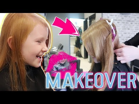8 YEAR OLD GETS A MAKEOVER!