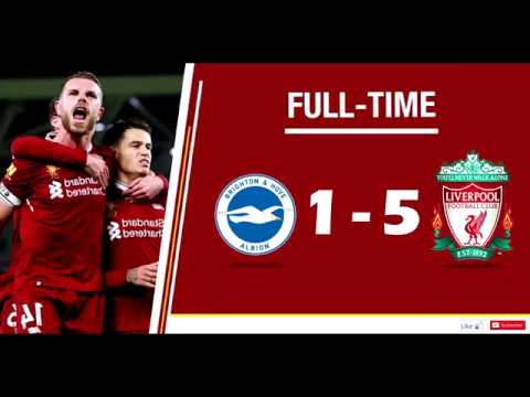 Download BRIGHTON 1    5 LIVERPOOL   ALL GOALS & HIGHLIGHTS