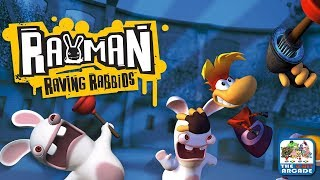 Rayman Raving Rabbids - Save Baby Globox and Break Out of Jail (Xbox One/360 Gameplay)