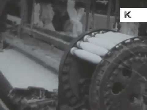 1930s South Eastern United States, Industry, Factories