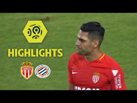 AS Monaco - Montpellier Hérault SC (1-1) - Highlights - (ASM - MHSC) / 2017-18
