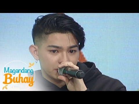 Magandang Buhay: Joao Constancia becomes emotional