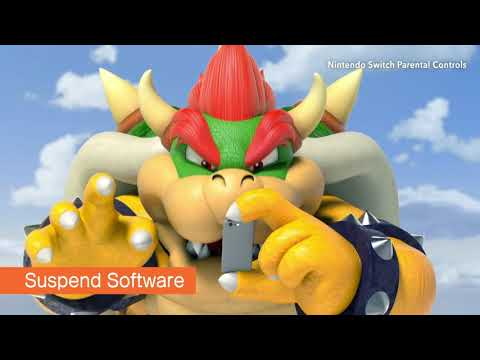 Ybor (YTP) Bowser Jr Breaks The Parental Controls By Playing Fortnite