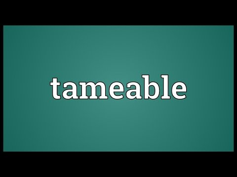 Header of tameable