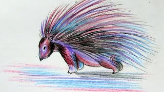 How To Draw An Interesting Porcupine - DIY Crafts Tutorial - Guidecentral