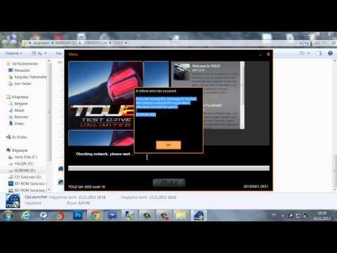 Test Drive Unlimited 2 #Error 5 Hatasının Çözümü