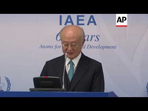 IAEA chief warns Iran over heavy water level