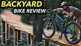 Polygon Siskiu N9 vs. The Backyard Bike Park! // 2021 Bike Review