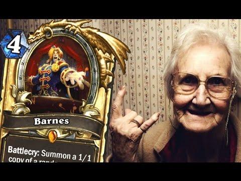 LE DECK CHASSEUR BARNES PARFAIT HEARTHSTONE !