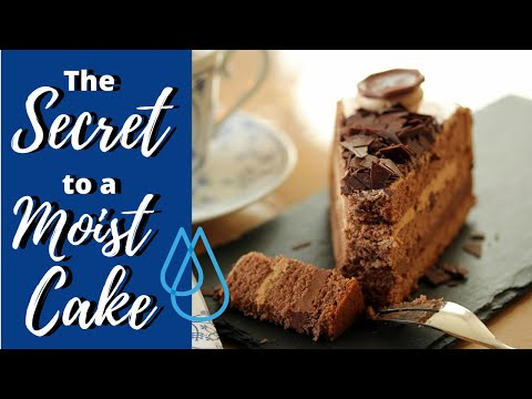 The SECRET to a MOIST CAKE