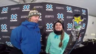 Maddie Bowman - 2016 X Games Superpipe Champion
