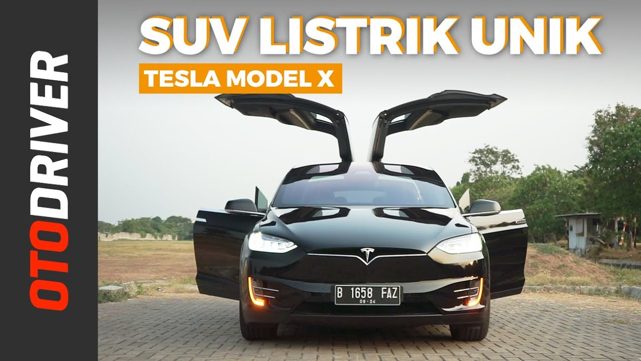 Tesla Model X 2019 Review Indonesia Otodriver Youtube