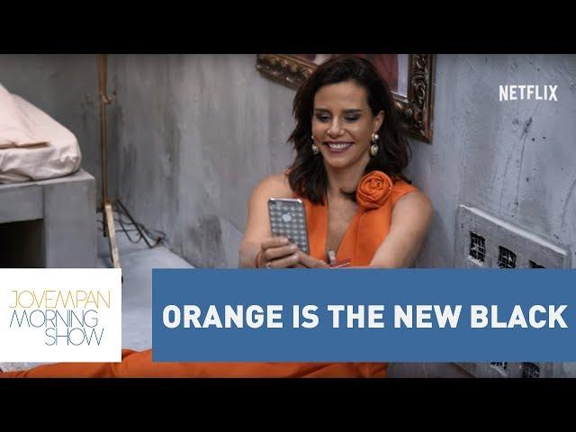 "Narcisa Tamborindeguy ""vai presa"" para não receber spoilers de Orange is the New Black"