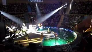 Запорожский цирк на воде Вотерленд. Ukraine Zaporizhia Waterland Circus