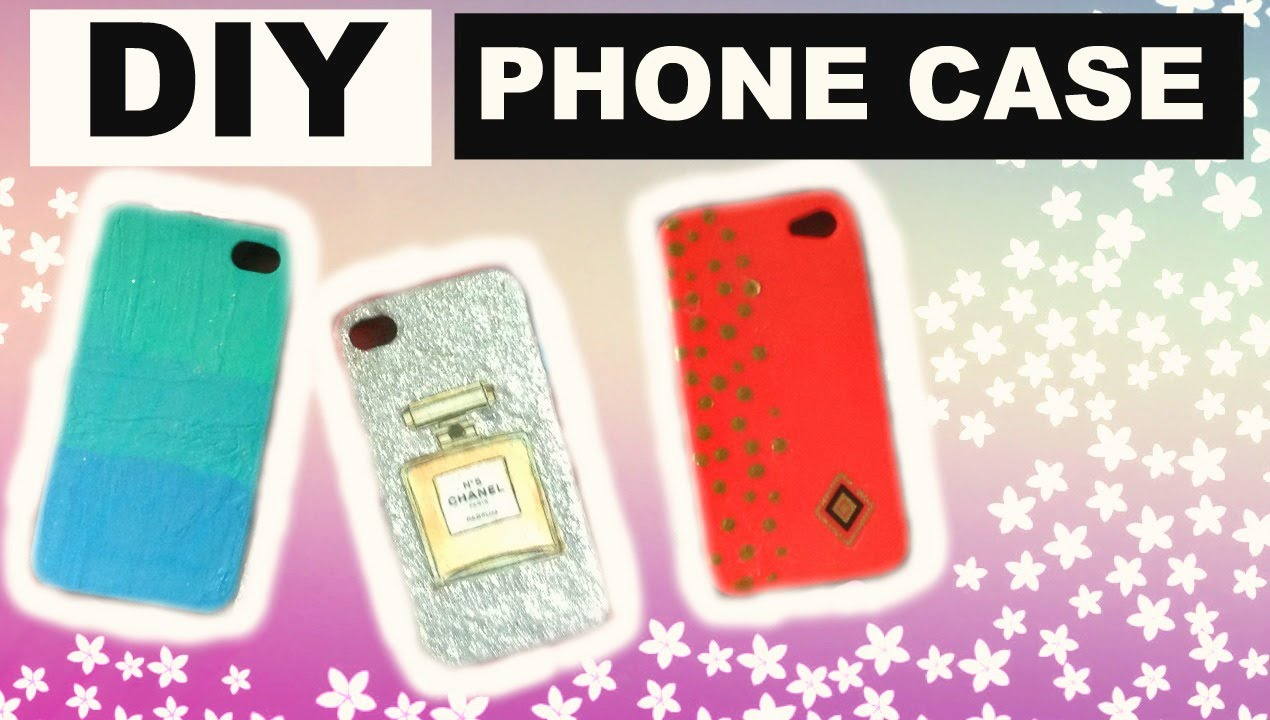 diy coque de t l phone phone case youtube. Black Bedroom Furniture Sets. Home Design Ideas