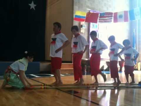 Waterside School Tinikling 2012.MOV