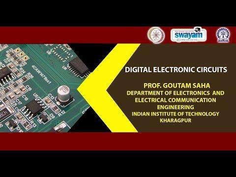 digital electronic circuits prof goutam saha iit kharagpur course