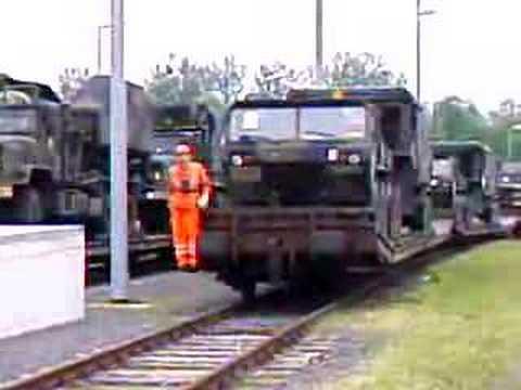 USAREUR US Army Europe Hanau Kasern Railhead