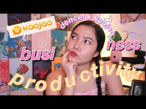 top 5 EFFECTIVE tips for your ONLINE BUSINESS + boost your productivity! ft. Kaojao 