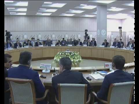 SCO Heads of State Council Plenary Session