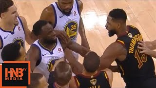 Tristan Thompson & Draymond Green Skirmish / Thompson Ejected / Cavs vs Warriors Game 1