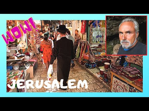 JERUSALEM: How it feels to walk around the SOUQS (ARAB MARKETS), watch this video!