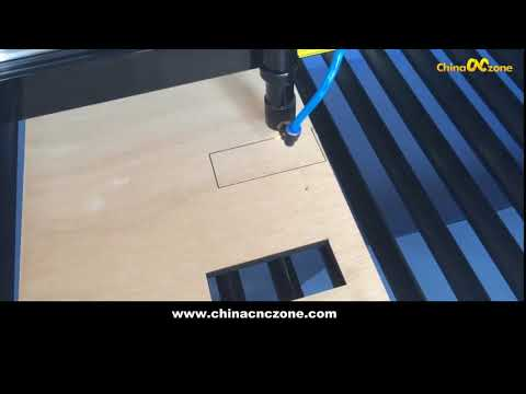 DIY desktop Hobby mini CO2  Laser Engraver Cutter Machine for Wooden Cutting