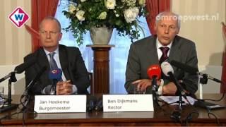 Complete persconferentie van burgemeester en rector over de dood van de 13-jarige Anass