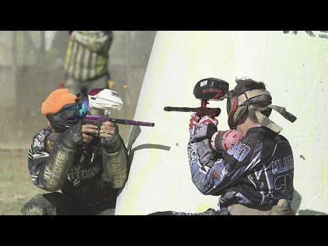 Brutal paintball at the WCPPL Oceanside Open by UNDR Industries