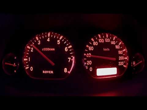 Rover 25 2.0T Acceleration Test 0-100 Km/h #2